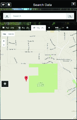 View georeferenced data on Google Maps